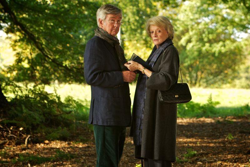 Quartet: Maggie Smith e Tom Courtenay in una scena del film