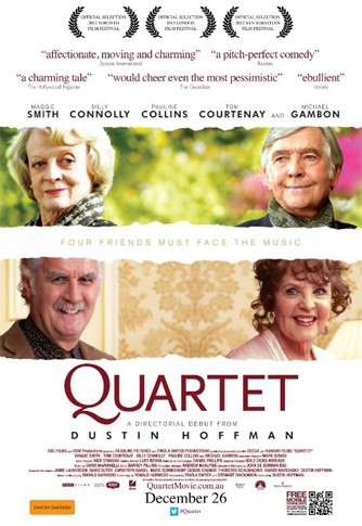 Quartet: nuovo poster per il film diretto da Dustin Hoffman