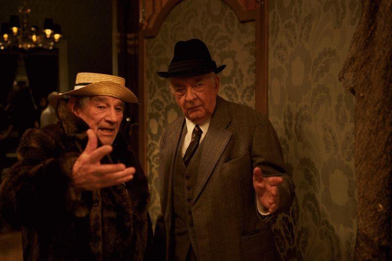 Quartet: Trevor Peacock e David Ryall in una scena del film