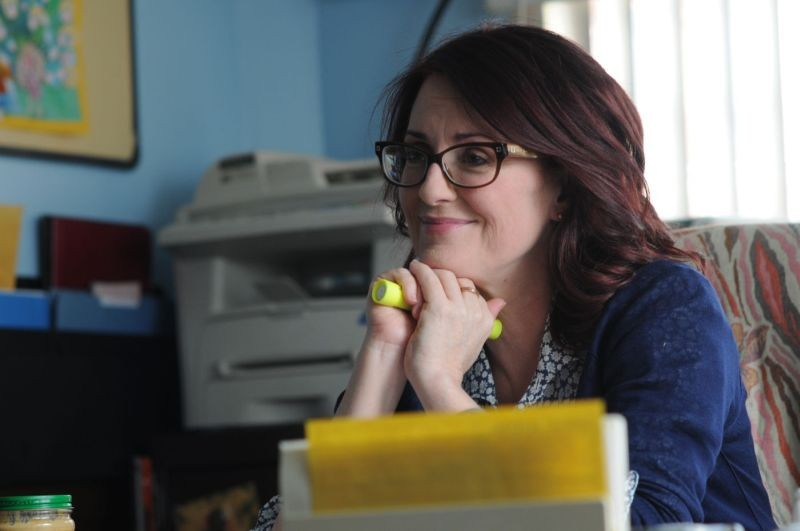 Smashed: Megan Mullally in una scena del film