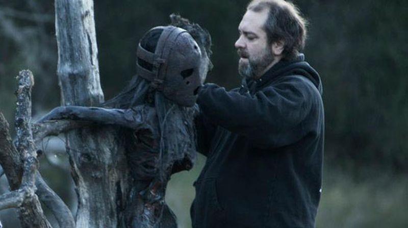 The Lords of Salem: il curatore degli effetti speciali Wayne Toth sul set del film