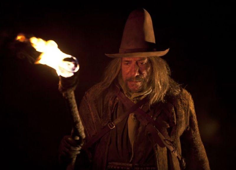 The Lords of Salem: Sid Haig in una scena del film