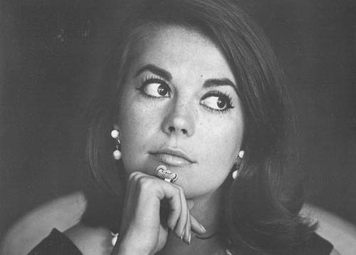 un ritratto della diva Natalie Wood