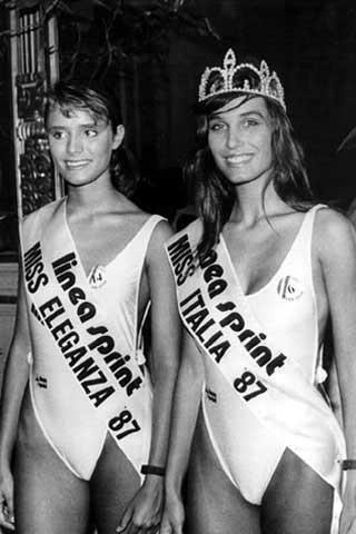 Miss Italia 1987: Mirka Viola e Michela Rocco di Torrepadula
