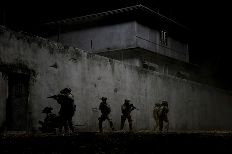 Operazione Zero Dark Thirty: un gruppo di marines in azione nella notte