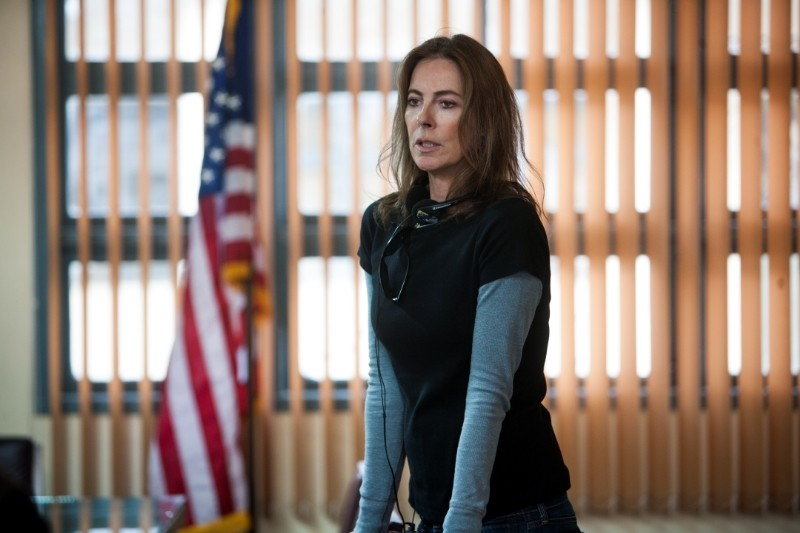 Operazione Zero Dark Thirty: la regista Kathryn Bigelow sul set