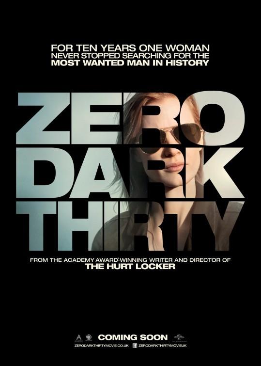 Operazione Zero Dark Thirty: poster UK