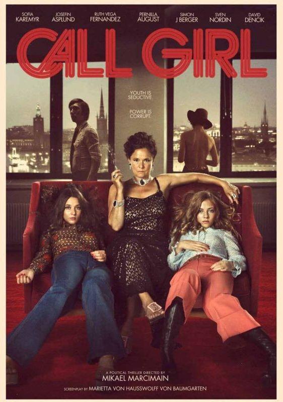 Call Girl: la locandina del film