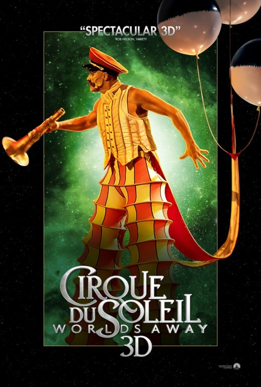 Cirque du Soleil: Worlds Away: international poster 3