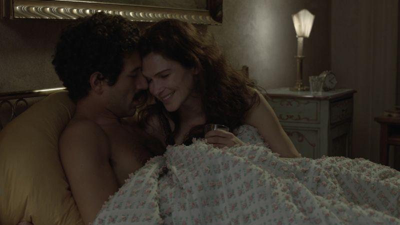 Itaker: Francesco Scianna e Monica Birladeanu in una scena del film