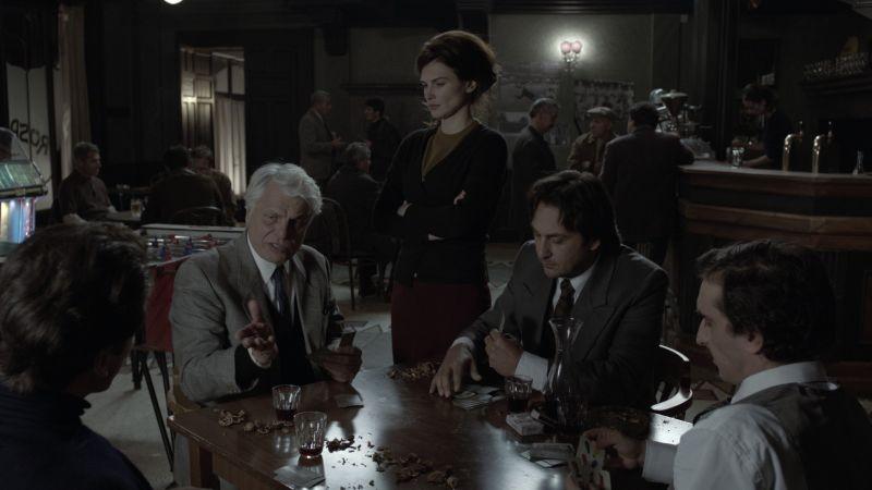 Itaker: Michele Placido, Monica Birladeanu e Vincenzo Peluso in una scena del film