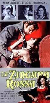 La zingara rossa: la locandina del film