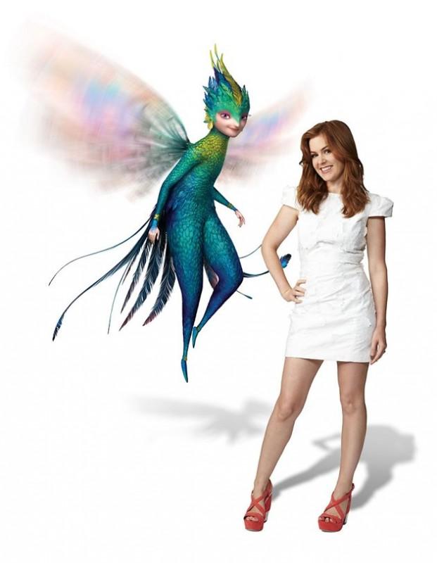 Le 5 leggende: Isla Fisher accanto a Tooth in una immagine promo