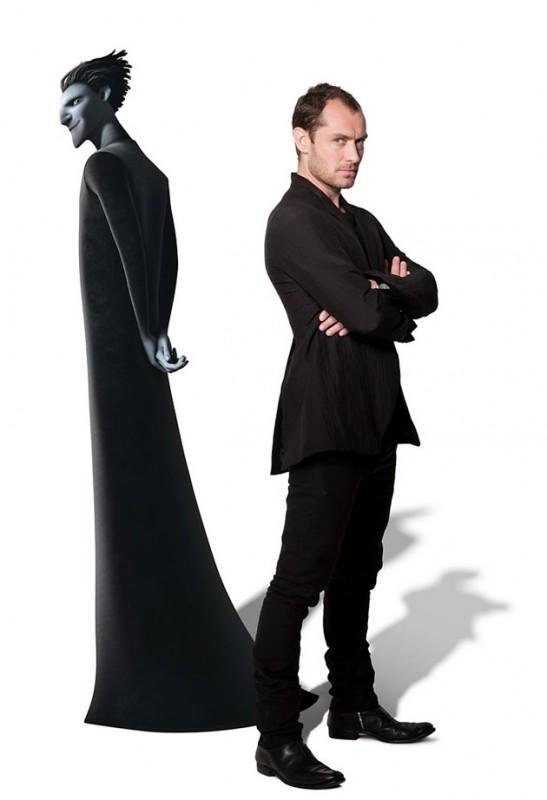 Le 5 leggende: Jude Law accanto a Pitch in una immagine promo