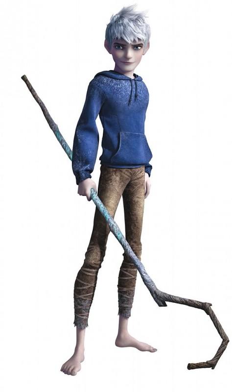 Le 5 leggende: l'atletico e affascinante Jack Frost in una immagine promo