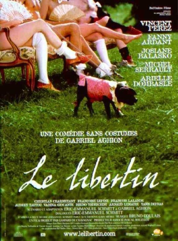 Le libertin: la locandina del film