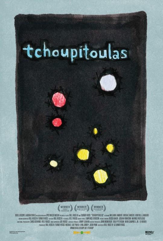 Tchoupitoulas: la locandina del film
