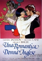 Una romantica donna inglese: la locandina del film