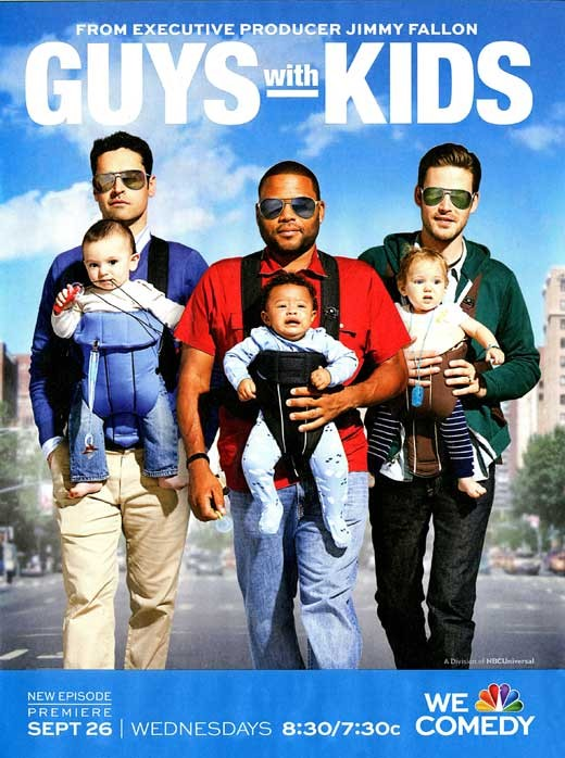 La locandina di Guys With Kids