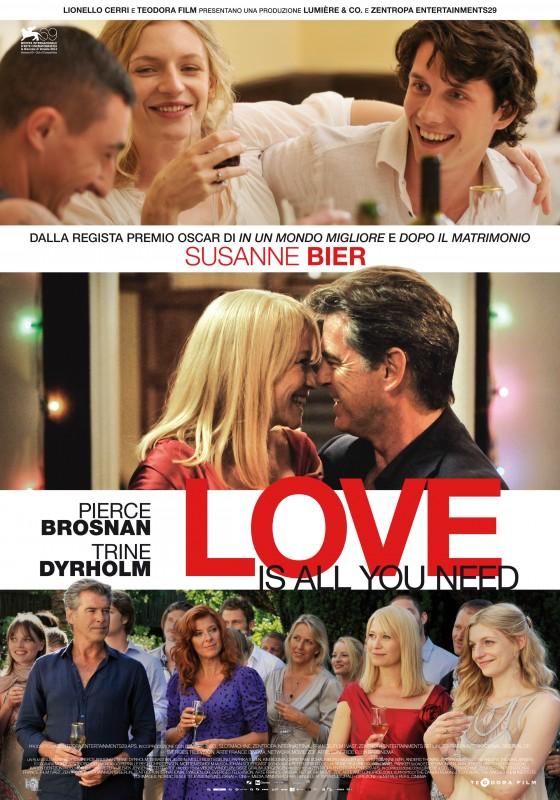 Love Is All You Need: locandina italiana