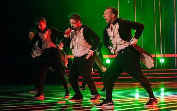 X Factor 6: Ics in un momento della manche dance della sesta puntata