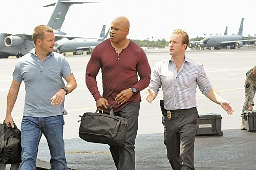 NCIS - Los Angeles: una foto del cross over con Hawaii Five-0