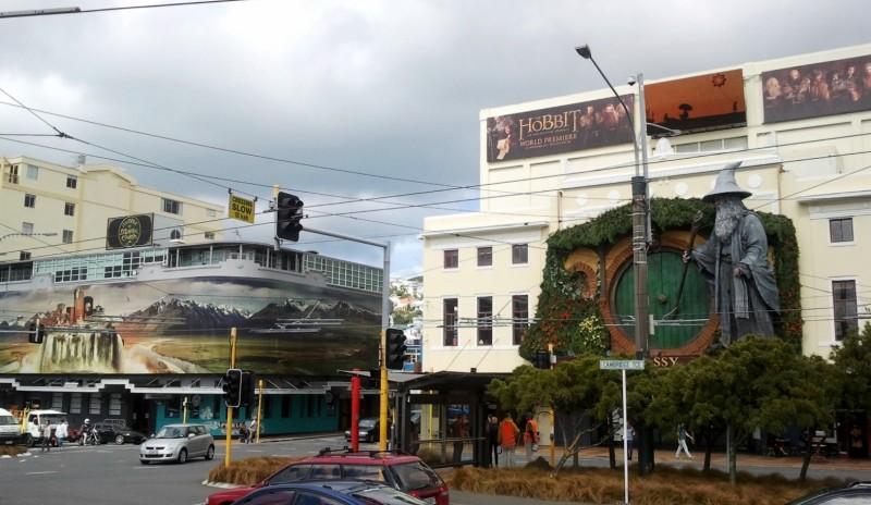 Wellington si prepara alla premiere di Lo Hobbit: un viaggio inaspettato, primo capitolo della trilogia de Lo Hobbit