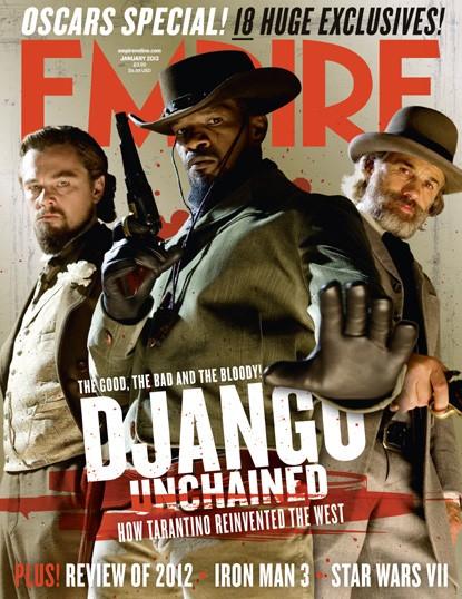 Django Unchained: la copertina di Empire