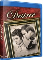 La copertina di Desirée (blu-ray)