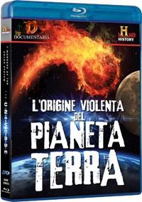 La copertina di L'origine violenta del pianeta Terra 3D (blu-ray)