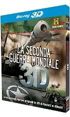 La copertina di La seconda Guerra Mondiale in 3D (blu-ray)