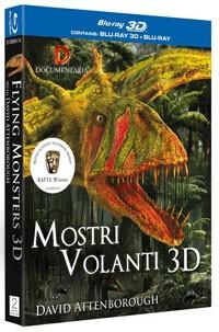 La copertina di Mostri volanti 3D (blu-ray)