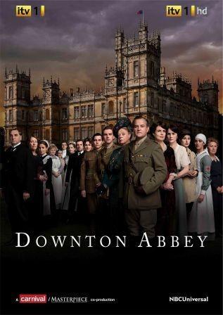 Locandina originale di Downton Abbey