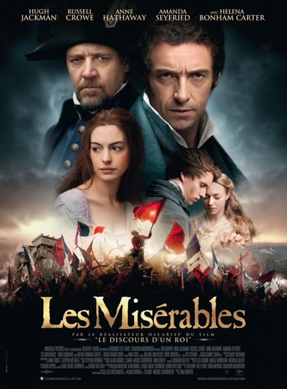 Les Miserables: la locandina francese