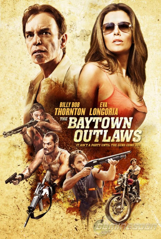 The Baytown Outlaws: la nuova locandina