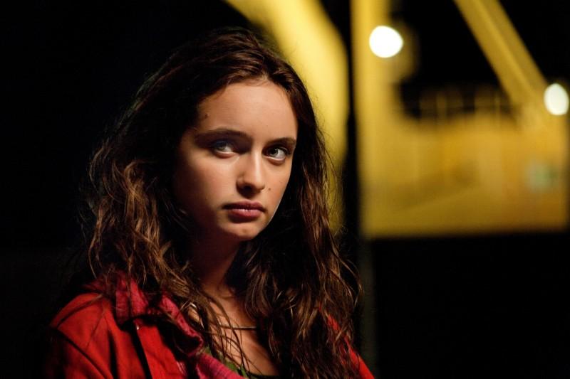 Esclusiva: la bella Clara Ponsot in una scena del film Cosimo e Nicole