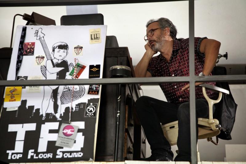 Esclusiva: Paolo Sassanelli in una scena del film Cosimo e Nicole (2012)