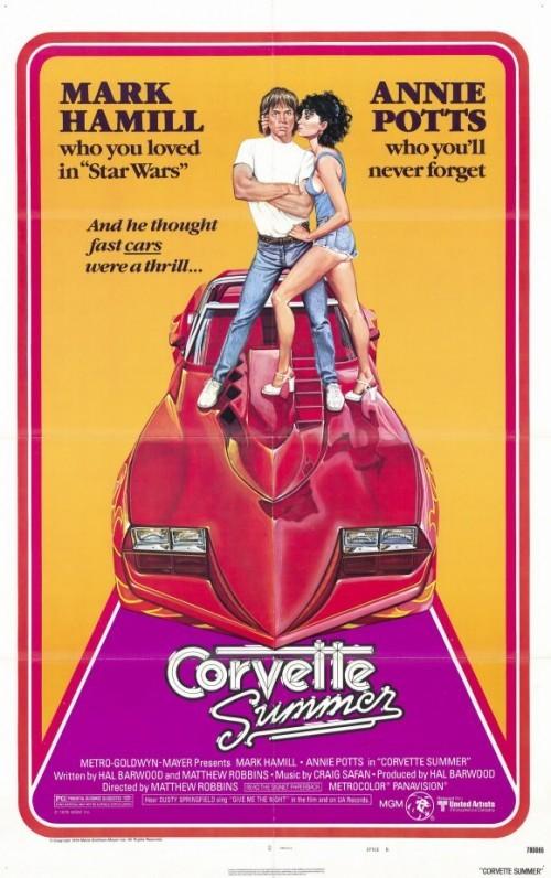 L'estate della corvette: la locandina del film