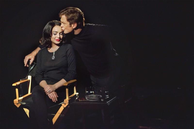 Lindsay Lohan e Grant Bowler sono Liz Taylor e Richard Burton in una immagine promo di Liz and Dick, biopic televisivo
