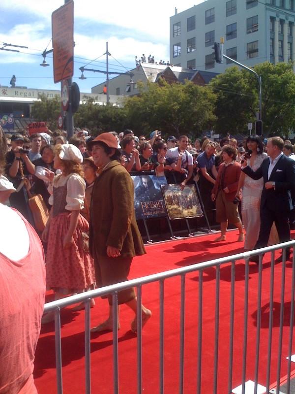Lo hobbit - Un viaggio inaspettato: Bagginses and Boffins, Tooks and Brandybucks alla premiere di Wellington