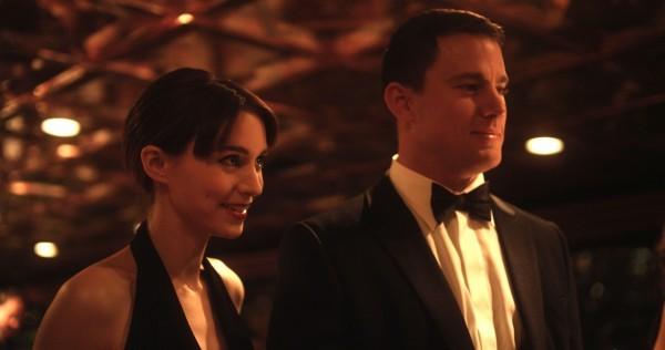 Side Effects: Rooney Mara e Channing Tatum in una scena del film