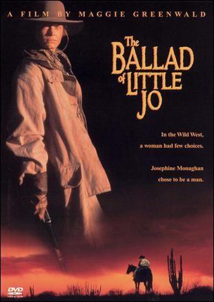 The Ballad of Little Jo: la locandina del film
