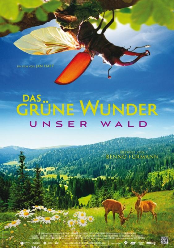 Das grüne Wunder - Unser Wald: la locandina del film