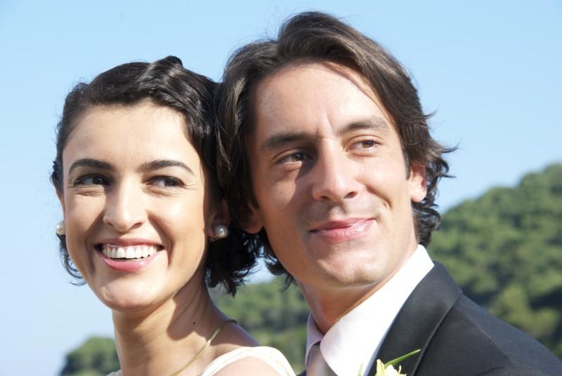 L'isola: Blanca Romero e Marco Foschi in una scena della fiction Rai