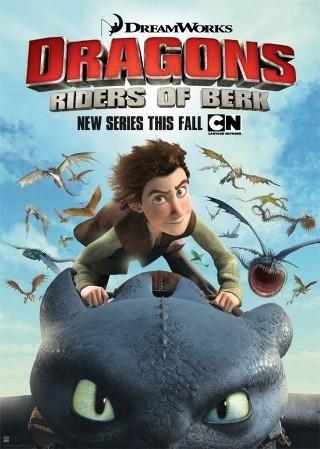 La locandina di Dragons: Riders of Berk