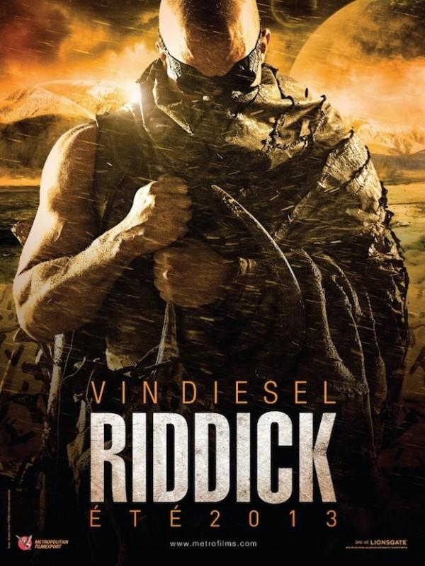 Riddick: ecco la prima locandina mozzafiato