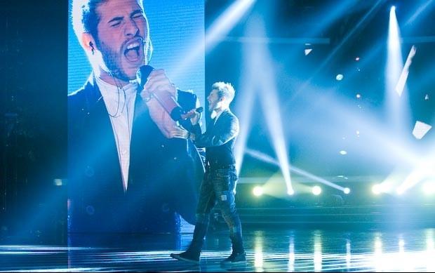 X Factor 6: Daniele Coletta canta il suo inedito nella semifinale