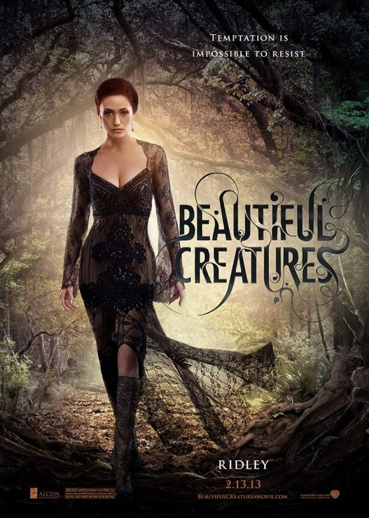 Beautiful Creatures: character poster di Emmy Rossum nei panni di Ridley Duchannes