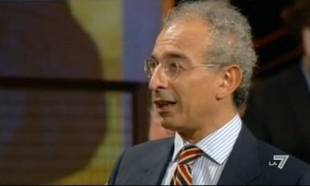 Gad Lerner nel suo talk show L'infedele