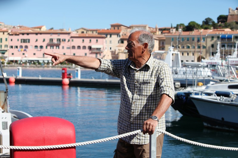 L'isola: il regista Alberto Negrin